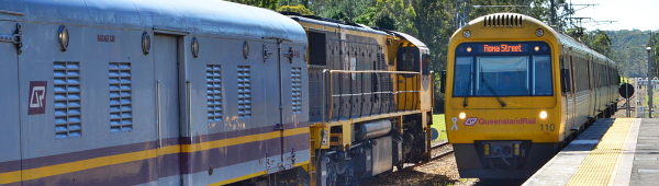 Brisbane City Queensland Country Railways