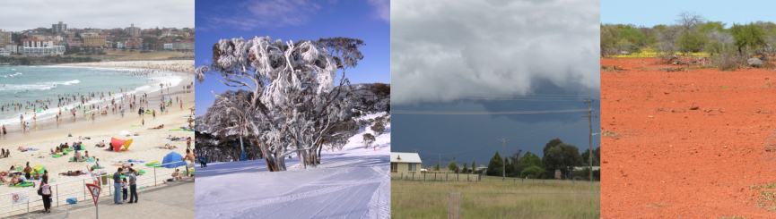 Changing Australia Weather